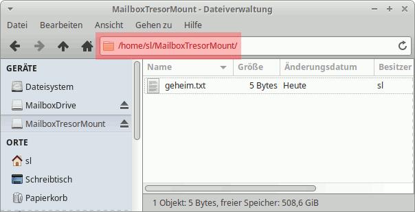 CryFS: Dateien verschlüsseln